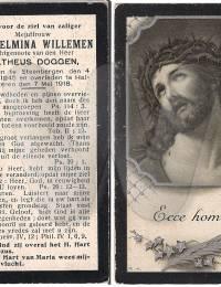Willemen_Wilhelmina_bidprentje